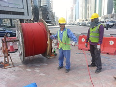 Fiber Optics Cables Installation in West Bay
