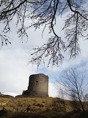 Dolbadarn castle Llanberis (Mel Garside) Tags: snow castle wales spring north bluesky llanberis dolbadarn 2013 snowdoniamountainandcoast