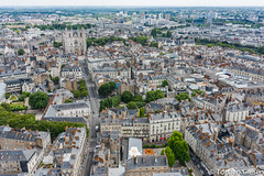 Nantes-Tour_de_Bretagne_vue_vers_la_gare_22072016 (giesen.torsten) Tags: nantes frankreich france paysdelaloire nikon tourdebretagne aussichtsplattform blickbernantes nikond810