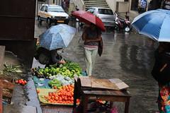 Aizawl Saturday Market (azara ralte) Tags: aizawl missionveng newstreet bazar chawhmeh mizolife mizoram aizawlcity inrinnibazar market roadsidemarket rainyseason fur ruahsur