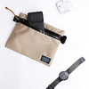 Flat Pouch Sand 07 (Imagery Bags) Tags: zipper ykk waterresistant flatpouch drypouch