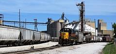 Des Moines, Iowa, Iowa Interstate Railroad, Hull Avenue Yard, Engine, 720 (photolibrarian) Tags: desmoinesiowa iowainterstaterailroad hullavenueyard engine 720