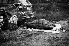 Serious Car Camping (ma vie en rouge) Tags: hyperlitemountaingear wyoming grandtetonnationalpark mike carcamping sleep
