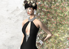 KELINI - Feeling Dress (Rehana MiSS SLVietnam, Face of CHOP ZUEY 2015) Tags: sl secondlife fashion rehana rehanaseljan newrelease kelini chopzuey lode laboheme slink boon posesion