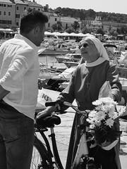 Wise lessons (Wichert van Gelder) Tags: haven habour croatia kroatië maistra istria istrië rovinj sister non