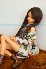 (koloish) Tags: abjd bjd ball jointed doll dolls muneca fairyland minifee rheia tribal