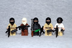 Terrorists (Evgenion) Tags: lego custom minifigures figures minifigs figs action moc military terrorists brick arms forge warriors brickforge brickarms brickwarriors  sidan toy