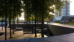 20160812_194557 (durr-architect) Tags: almere waterfront kunstlinie sanaa modern architecture evening light