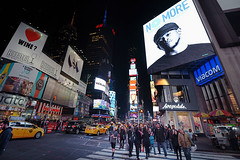 Time Square (juliekrugerart) Tags: trail girl julie kruger photography new york manhattan motion hustle bustle nikon d810 metropolitan museum brooklyn bridge grand central station taxis world trade center subway