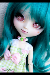 Flora a enfin sa custo finale.... ( Crystal Doll ) Tags: pullip fc ooak azazelle formydoll