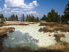 West Thumb Paint Pots (YellowstoneNPS) Tags: yellowstone nationalpark whj williamhenryjackson photography historic historical contemporary thenandnow pastandpresent yesterdayandtoday westthumb geyserbasin mudpuff thermal yellowstonelake 277 grantvillage wyoming usa