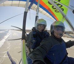 Beach Lovers (floridaadventuresports) Tags: florida girlpower flying flights aerial adventure extreme sports outdoors hanggliding skydiving paragliding fun