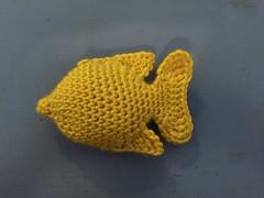 Sea Life - Yellow Tang (SunnyInDenmark) Tags: yellowtang tang marine fish crochet amigurumi suviscrochet