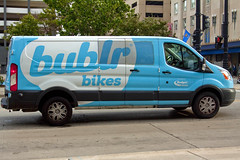 Bublr Bikes Van IMG_7112 (www.cemillerphotography.com) Tags: midwest wisconsin city metropolis transportation street park lawenforcement officers