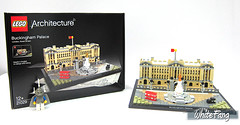 I am truly glad to be able to visit this iconic London landmark (WhiteFang (Eurobricks)) Tags: lego architecture set landmark country buckingham palace victoria elizabeth royal royalty family crown jewel imperial statue tourist united kingdom uk micro bus taxi