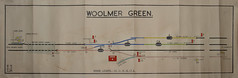 Woolmer Green (P Way Owen) Tags: woolier green signalbox diagram