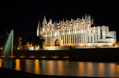 Catedral Palma Mallorca (sergio.nvs21) Tags: palma catedral cathedral mallorca nikon d7000 night nightshot