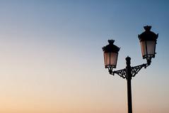 St Eulalia Sunrise (2/3) (ollietat) Tags: sunrise colourful street lamp nikon d300 ibiza santaeulalia spain