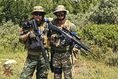 Bulbuente 2016 (A.GibajaPhotography) Tags: milsim airsoft soldiers army nature game partida sunset outdoor ejercito