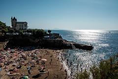 Biarritz - plage du Port vieux (GBr.) Tags: paysbasque barritz ocean plage sun beach vacances summer t bleu sable