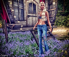 Sabrymoon wearing FashionNatic Jania Top ::LiES Creations:: Flower Jeans Light Blue and Rezology Timber hair (Two Too Fashion) Tags: secondlife secondlifemodel style stylish sensual sexy casual casualchic chic chicoutfit femaleoutfit femaletop femalepants fashionnatic liescreations rezology janiatop flowerjeansbluelight timberhair fashion fashionoutfit
