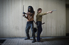 The Walking Dead Cosplay (Greg Larro Photography) Tags: dragon con dragoncon dragoncon2015 2015 convention cosplay walking dead genderswap genderbent crossplay amc