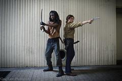 The Walking Dead Cosplay (Greg Larro Photography) Tags: dragon con dragoncon dragoncon2015 2015 convention cosplay walking dead genderswap genderbent crossplay amc