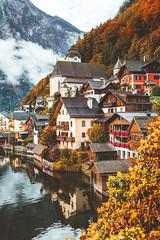 L't indien. (www.juliadavilalampe.com) Tags: hallstatt autumn fall otoo beauty austria sterreich salzkammergut love romantic place travel destination