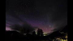 Aurora n clouds (amcgdesigns) Tags: andrewmcgavin glenbrittle timelapse night nighttime skyatnight aurora northernlights isleofskye skye eos7dmk2 trees scotland scottishweather canon1022mm