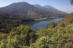 Bratan Lake, Bedugul (franciscus nanang triana) Tags: travel bali lake indonesia landscape photo foto triana danau wisata nanang franciscus bratan bedugul