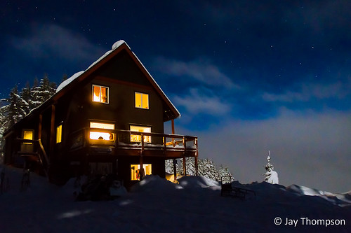 "Snowbowl Hut in the moonlight • <a style=""font-size:0.8em;"" href=""http://www.flickr.com/photos/27893238@N07/8371862836/"" target=""_blank"">View on Flickr</a>"