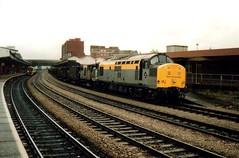 Newport, 12th August 1992 (elkemasa) Tags: newport 1992 class37