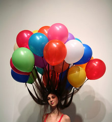 Untitled _ Balloon _ Performance, Photo