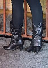 2012-12-01 (21) r4 boots (JLeeFleenor) Tags: girls woman black photography boot donna shoes boots photos femme mulher westvirginia heels frau vrouw buckles dona charlestownraces wanita    kvinne   nainen kobieta   kvinde ena  kvinna kadn n lamujer    boot shoe  ngiphn