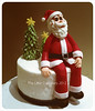 Santa Cake (Klaire with a Cake) Tags: santa cake mckay little claus lorraine tlc cupcakery klairescupcakes