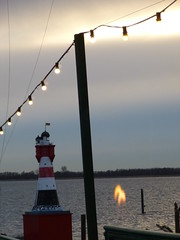 Lights of Kollmar | Schleswig-Holstein, Germany (hellimli) Tags: light sunlight lighthouse lightbulb river germany deutschland elba candle tyskland allemagne elbe germania duitsland schleswigholstein labe eka riverelbe almanya kollmar  kreissteinburg