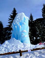 UNA FONTANA GHIACCIATA al TIRLER (aldofurlanetto) Tags: azzurro fontana ghiaccio tirler