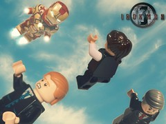 LEGO Iron Man 3 : Mark 42 Suit - Preview (MGF Customs/Reviews) Tags: 3 man robert iron lego mark 8 jr suit armor mandarin patriot 47 downey the extremis