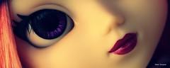 Patchita is coming... (Elisabet Threepwood (so busy)) Tags: pink school black cat cool doll dolls purple handmade salmon chips wig groove wigs pullip custom pullips bobobo elisabet oranje customs threepwood coolcat elit rechip elitdolls patchita elidoll