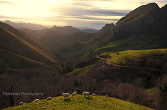 (Rawlways) Tags: sunset landscape spain asturias valley