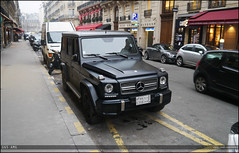 G65 (Blanchard Justin) Tags: paris london mercedes benz arabic arab arabe v8 amg v12 mercedez biturbo g65