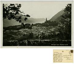 Roncegno Terme, 1935? (Ecomuseo Valsugana | Croxarie) Tags: cartolina 1935 valentini roncegno sittoni roncegnoterme croxarie giuseppesittoni