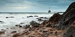 Greyhope-1.jpg (Chris_Hoskins) Tags: scotland entrance rocky stormy aberdeen northsea breakwater rockyshore stormyseas harbourentrance northeastscotland aberdeenbeach wildseas greyhopebay