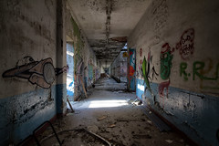 Come with me (Stefano Buttazzo (blackholesun)) Tags: italy abandoned lights rust ruins factory shadows decay urbanexploration dust urbex abandonedplaces beautyofdecay