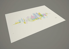 London Skyline Screen Print (Rory Willis) Tags: england color colour london tower church yellow thames skyline illustration skyscraper ink towerbridge londonbridge print poster landscape design screenprint cityscape view graphic cathedral unitedkingdom handmade cyan magenta stmartins londoneye bigben wallart palace panoramic printmaking bttower stpaulscathedral canarywharf battersea swissre nelsonscolumn toweroflondon tower42 trellicktower thegherkin bankside thepinnacle theo2 millenniumdome palaceofwestminster serigraph canadasquare cmyk serigraphy herontower cityscapeart skylinepictures cityskylineart skylineartprints skylinewallart