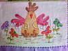 pano de prato (Ana Carla_Fazendo Arte) Tags: flores frutas galinha cupcake patchwork cozinha