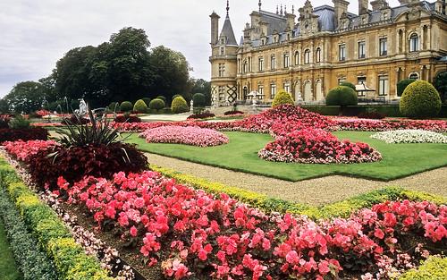 Waddesdon Manor Gardens, Buckinghamshire, England | Immaculate National  Trust Victorian Gardens (12 Of