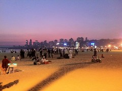 Chowpatty beach, Mumbay (narice28) Tags:
