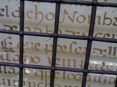 Words jailed. (*Taber*) Tags: barcelona one bcn catalunya barcino barcellona catalua barcelone catalogne catalonian barcelonne