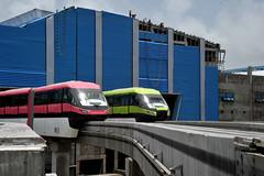 Mumbai Monorail (E R) Tags: india rake monorail mumbai lt trialrun indianworkers mumbaicity mmrda mumbaicityscape mumbaimonorail mumbaiinfrastructure scomiengineering mmrdaprojects railrake mumbaimonorailsystem